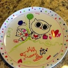 sharpie kids plate