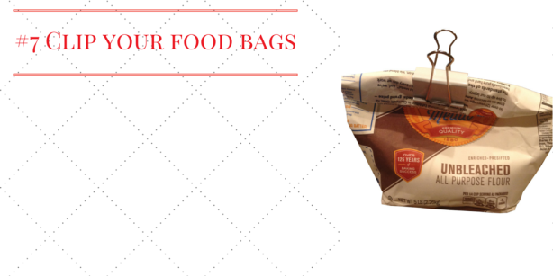 #7 Clip your food bags
