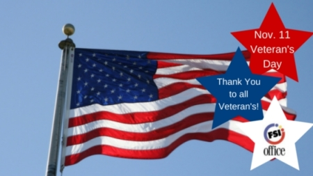 Nov. 11 Veteran's Day
