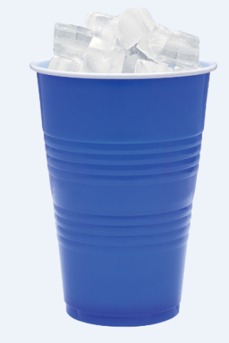 GJPartyCup with Ice