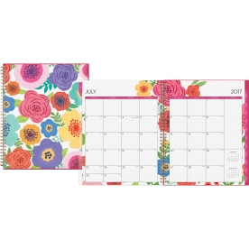 Blue Sky Mahalo CYO 8.5 x 11 Weekly/Monthly Planner | FSIoffice | 2017