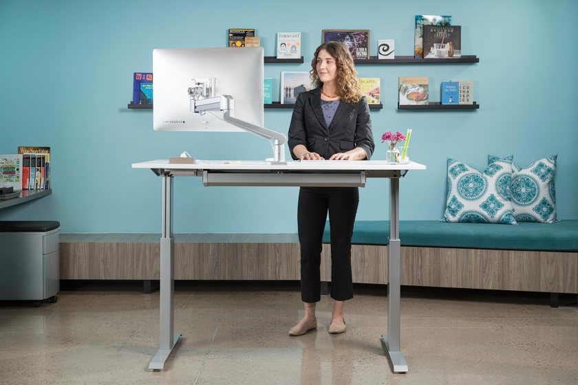 Sit-Stand-Adjustable-Desk-FlexTable