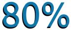 LinkedIn - 80%